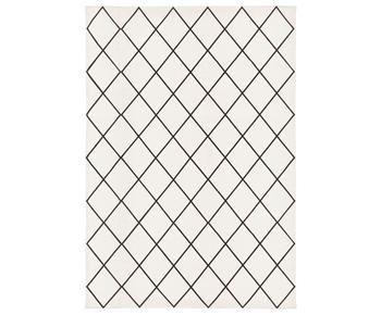 Alfombra artesanal de algodón Farah, 160 x 230 cm