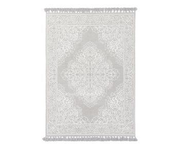 Tappeto Salima grigio chiaro, 200x300 cm