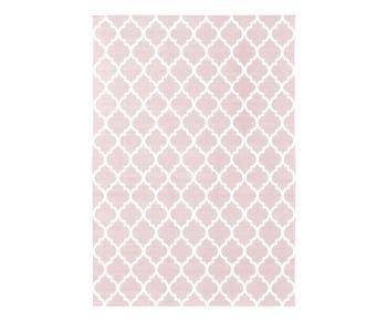 Tappeto Amira rosa, 160x230 cm