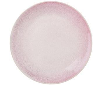 Set di 2 piatti colazione Amalia rosa