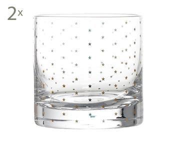Set de 2 vasos Dots