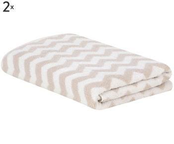 "Sada 2 ručníků ""Liv"", 50 x 100 cm"