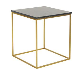 Table d\'appoint Alys, marbre - 45*45