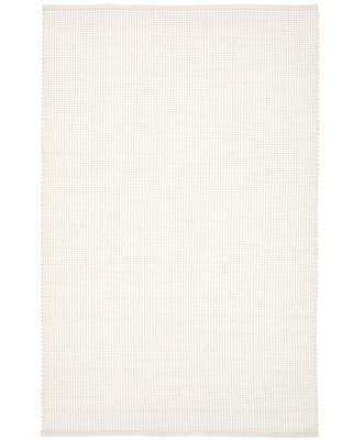 Tappeto in lana color crema tessuto a mano Amaro, 120x180 cm
