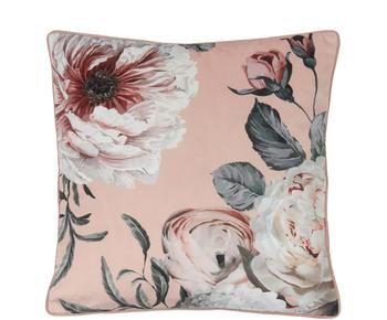 Funda de cojín de terciopelo Blossom, An 45 x L 45 cm