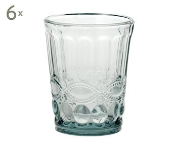 Set de 6 vasos Solange