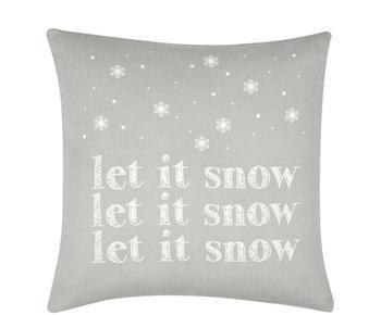 Kissenhülle Snow, 40 x 40 cm
