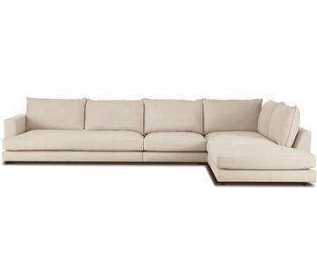 Sofá con chaise longue derecha Tribeca XL
