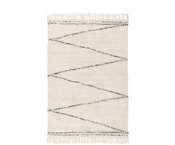 Handgetufteter Baumwollteppich Asisa, 120 x 180 cm