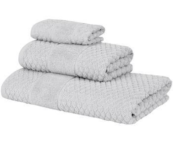 """Sada 3 ručníků """"Katharina, Light Gray"""""""