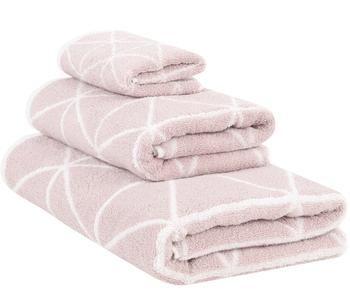 """Sada 3 ručníků """"Elina, Rosa Creme"""""""
