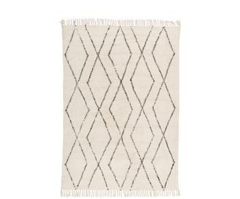 Handgetufteter Baumwollteppich Bina, 160 x 230 cm