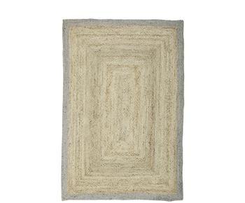 Alfombra artesanal en yute Shanta, 160 X 230 cm