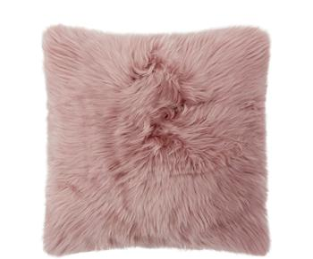 """Polštář z přírodní kožešiny """"Oslo Pink"""", 40 x 40 cm"""