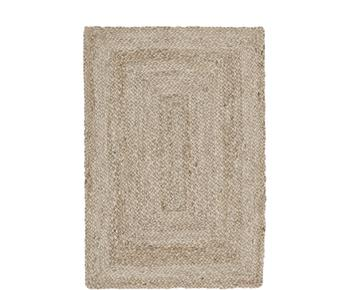 Handgefertigter Jute-Teppich Sharmila, 60 x 90 cm