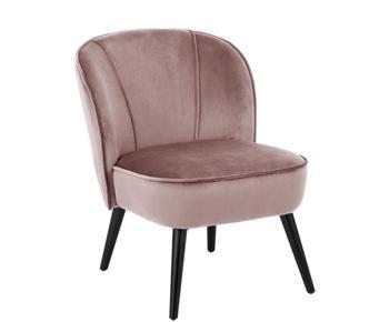 Fluwelen fauteuil Lucky