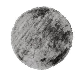 Glänzender Hochflor-Teppich Timmy, Ø 150 cm