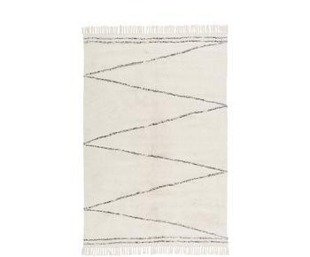 Handgetufteter Baumwollteppich Asisa, 160 x 230 cm