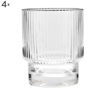 Set di 4 bicchieri acqua Minna